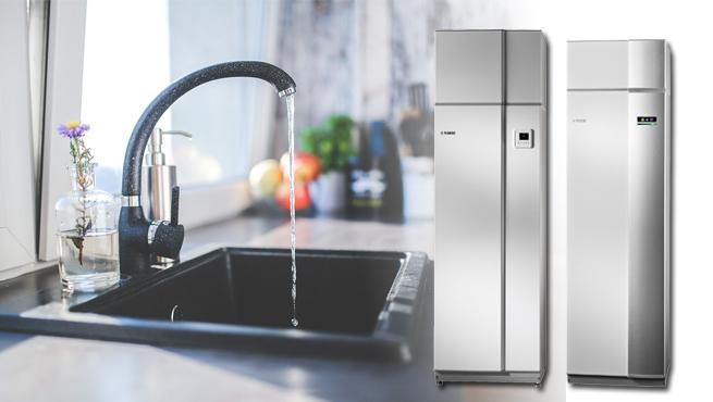 frånluftsvärmepumpar ger tappvatten